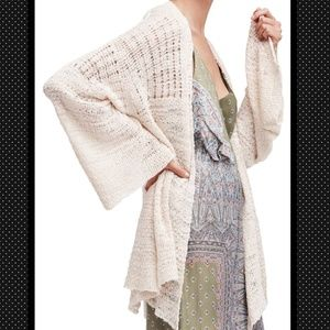 🆕Free People In My Element Kimono Sweater